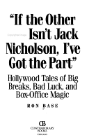 If the Other Guy Isn t Jack Nicholson  I ve Got the Part  PDF