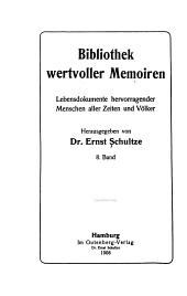 Bibliothek wertvoller memoiren: Briefe und tagebuch blätter