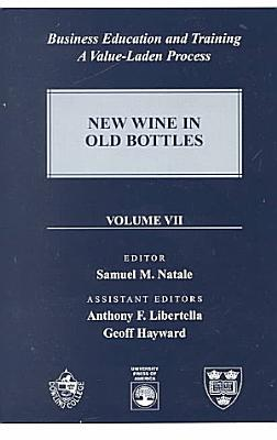 Business Education and Training  New wine in old bottles PDF