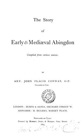 The story of early   medi  val Abingdon PDF