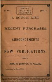 Collection of ... Catalogues in ... Vols: Volume 1