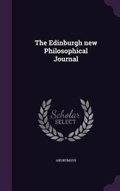 The Edinburgh new philosophical journal: Volumes 35-36