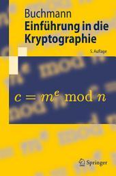 Einführung in die Kryptographie: Ausgabe 5