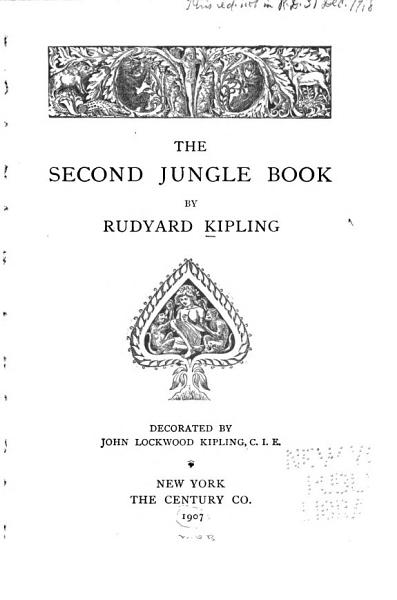 Download The Second Jungle Book Book