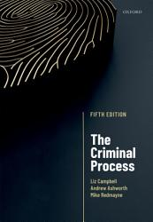 The Criminal Process Book PDF