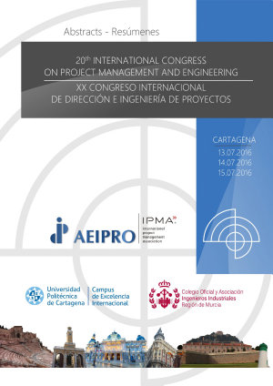 20th International Congress on Project Management and Engineering
