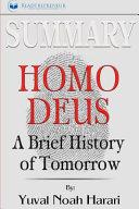 Summary Homo Deus Book PDF