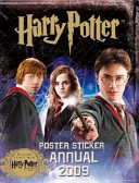 Harry Potter and the Half blood Prince  Poster Sticker Annual 2009 Book