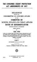 Hearings  Reports and Prints of the House Committee on Banking  Currency  and Housing PDF