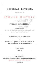 Original Letters, Illustrative of English History: To 1535
