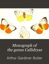 Monograph of the Genus Callidryas