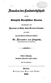 Annalen der Landwirtschaft in den königlich Preussischen Staaten: Band 6