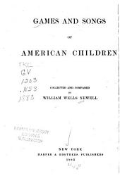 Games and Songs of American Children