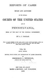 Reports of Cases ... 1754-1845: Volumes 3-4