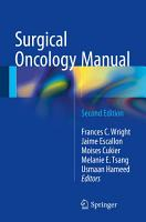 Surgical Oncology Manual PDF