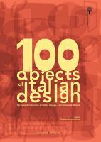 100 objects of italian design La Triennale di Milano PDF
