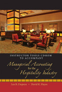 Instructor s Manual to Accompany Managerial Accounting for the Hospitality Industry PDF