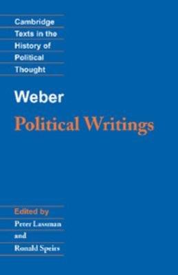 Weber  Political Writings PDF