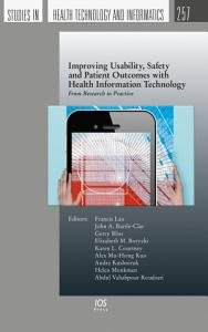 Improving Usability  Safety and Patient Outcomes with Health Information Technology