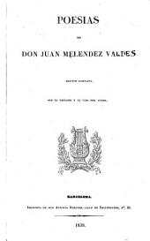 Poesias de don Juan Mélendez Valdés