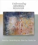Cengage Advantage Books  Understanding Abnormal Behavior