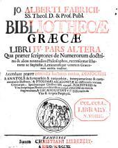 Jo. Alberti Fabricii, Bibliothecae Graecae: Volume 4