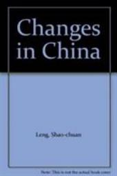 Changes in China: Party, State, and Society