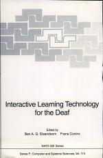 Interactive Learning Technology for the Deaf