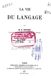 La vie du langage