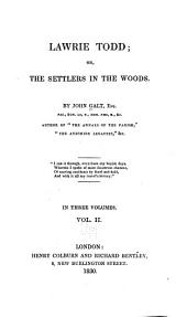 Lawrie Todd: Or, The Settlers in the Woods, Volume 2