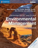 Cambridge IGCSE   and O Level Environmental Management Coursebook PDF