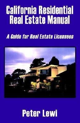 California Residential Real Estate Manual PDF