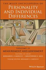 The Wiley Encyclopedia of Personality and Individual Differences, Measurement and Assessment