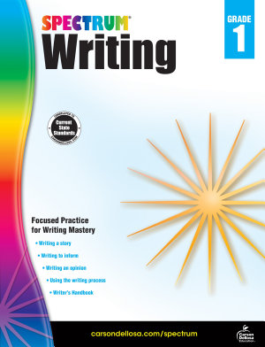 Spectrum Writing  Grade 1