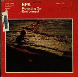 EPA Protecting Our Environment PDF