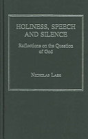 Holiness, Speech and Silence