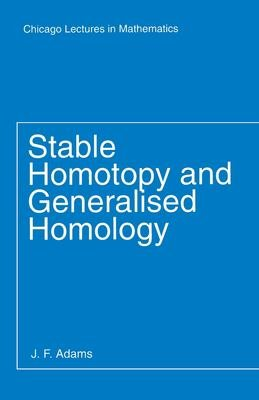 Stable Homotopy and Generalised Homology