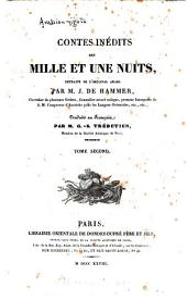 Contes inédits des mille et une nuits: Volume2