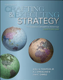 Crafting And Executing Strategy The Quest For Competitive Advantage Concepts And Cases Book PDF