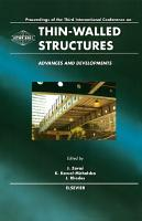 Thin Walled Structures   Advances and Developments PDF