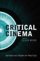 Critical Cinema PDF