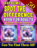 Supreme Spot the Difference Book for Adults PDF