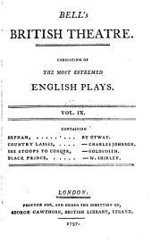 Bell's British theatre: Volume 9