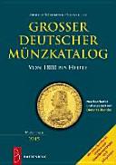 Gro  er deutscher M  nzkatalog PDF