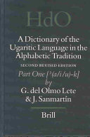 A Dictionary of the Ugaritic Language in the Alphabetic Tradition PDF