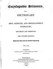 Encyclopaedia Britannica, Or a Dictionary of Arts, Sciences, and Miscellaneous Literature: Volume 8