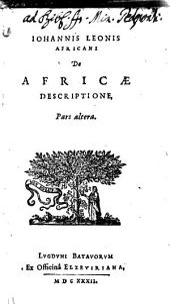 Africae descriptio ...