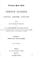 German Classics  Lessing  Goethe  Schiller PDF