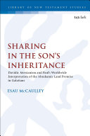 Sharing in the Son   s Inheritance