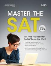 Master the SAT Math: Part V of V, Edition 13